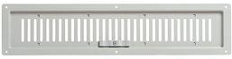 ウサミ 角型換気口 自然給排気口用部品 宇佐美工業 UK-FR1044-IV【アイボリー】 〈ステンレス製 フラット型レジスター(屋内用換気口)〉【1枚】 0069999