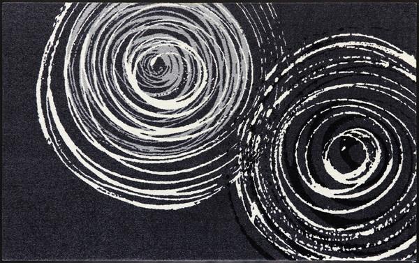 wash+dry  ウォッシュアンドドライ マット D017I【Swirl】 110×175cm