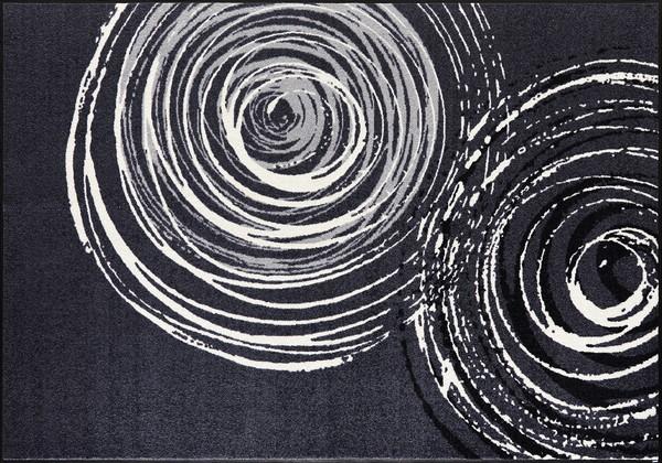 wash+dry  ウォッシュアンドドライ マット D017K【Swirl】 140×200cm