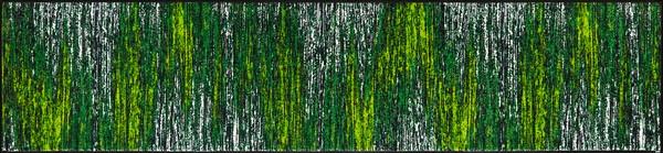 wash+dry  ウォッシュアンドドライ マット D021F【Scratchy green】 60×260cm