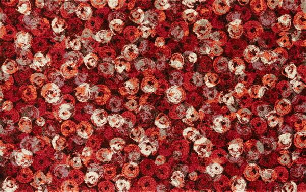wash+dry  ウォッシュアンドドライ マット K013I【Punilla red】 110×175cm