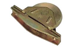 ヨコヅナ 年末年始大決算 ベアリング入 日時指定 鉄底車 袖型 4個入 ZGM-0603 60mm 鉄枠