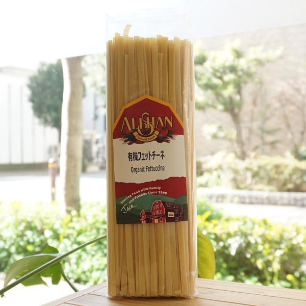 有機JAS 有機フェットチーネ 新品 ブランド品 500g アリサン Fettuccine Organic