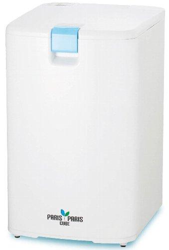 【送料無料】島産業 家庭用屋内型生ごみ処理機(乾燥式) 【パリパリキューブ】 ブルー PPC-01-BL