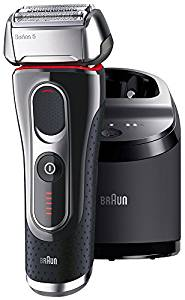 【送料無料】ブラウン(BRAUN) 5090cc-P シリーズ5 メンズ電気シェーバー 3枚刃 丸ごと水洗い可