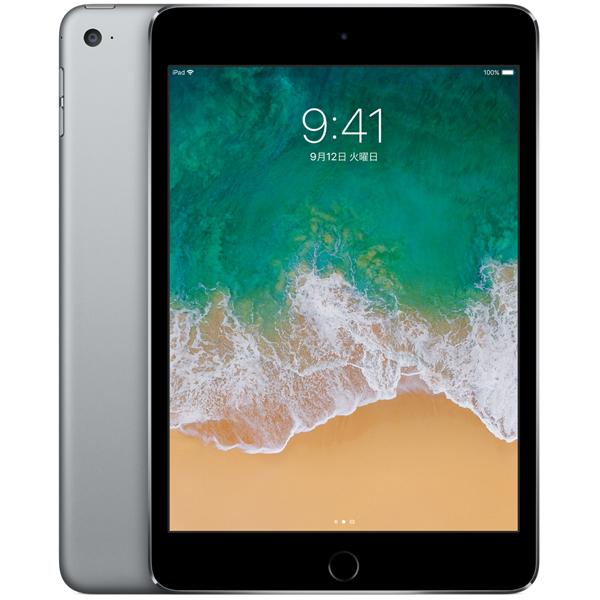 【送料無料】Apple(アップル)iPad mini 4 Wi-Fiモデル 128GB スペースグレイ MK9N2J/A