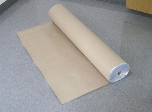 送料無料でお届けします 紙養生シート 専門店 片面フィルム貼り1m巾x50m巻 6本セット