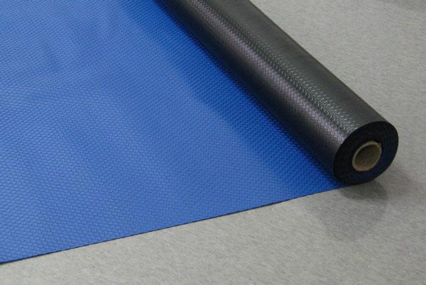 塩ビマット ダイヤマット【ブルー】1.5mm厚x915mm巾x20m巻 1本【★個人様宛送料見積り★】
