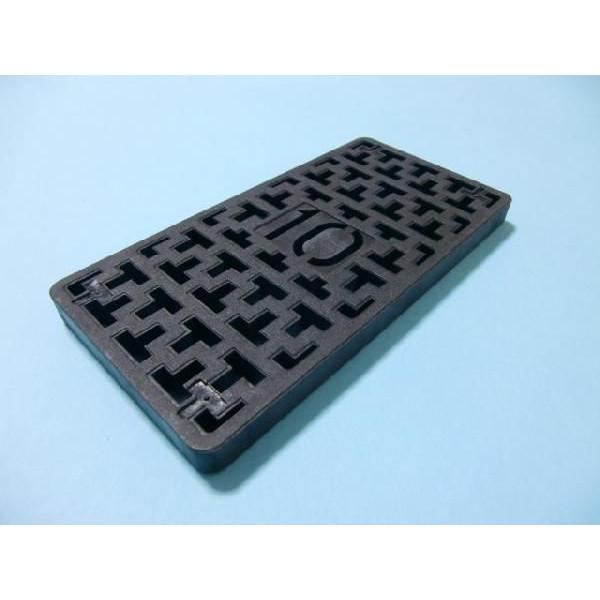 コンクリート2次製品等の高さレベル調整用環境にやさしいPP樹脂製品ライズプレート 期間限定 人気 おすすめ 調整プレートM 中荷重用 10個入 140×70-10 1ケース