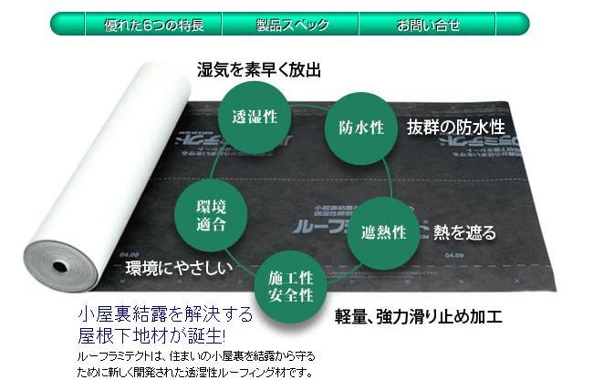 *透湿防水シート ルーフラミテクトR 【RL-40】 1ケース/2本組