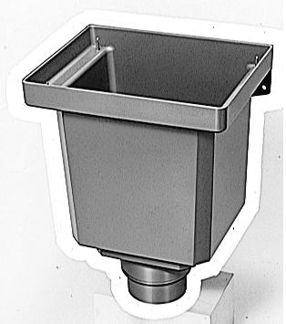 *大型用 飾ります VU100XVP・SU100 (大) フィルター付雨樋(あまどい)/縦樋(たてどい)用