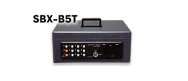 *【送料無料】アイリスオーヤマ 手提げ金庫 SBX-B5T ダークブルー02P05Nov16
