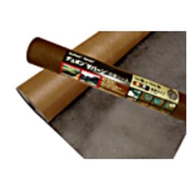 *(株)グリーンフィールド 防草シート(雑草シート)「ザバーン」240ブラック/ブラウン XA-240BB2.0 スタンダードプラス厚さ0.64x2mx30m