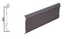 *鼻隠しパネル キャノパネRH351 長さ4m 幅350mmハナカクシ 1個