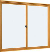 *YKKAP プラマードU【内窓】【二重窓】 引違い窓(単板ガラス)2枚建 サイズ10-11高さ 1101~1200 幅 1601~1700