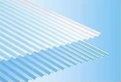【カット不可】タキロン 塩ビ波板 鉄板小波(32波)長さ8尺)2420mm) 10枚入セット