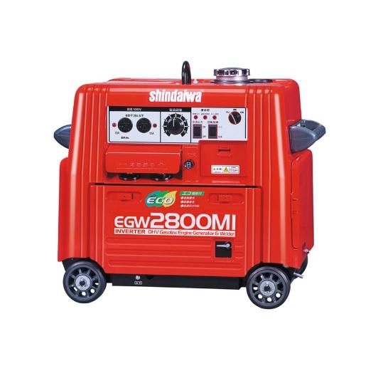 *インバーター発電機(ガソリンエンジン) やまびこ 新ダイワ 【IEG2801MI】