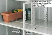 送料無料メーカー取り寄せ品 イナバ物置 5%OFF 前棚板セット シンプリー オプション 品質検査済 159E用