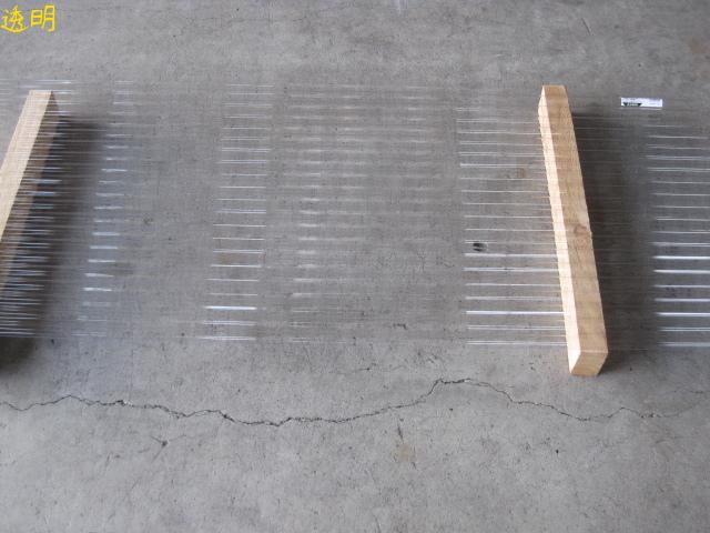 *【カット不可】【三菱樹脂製】ポリカ波板 長さ7尺(約2120mm) 10枚入セット ポリカ―ボネート 浪板