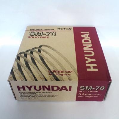 *現代綜合金属(株) ソリッド溶接ワイヤー SM-70 0.9mm 20kg/1箱