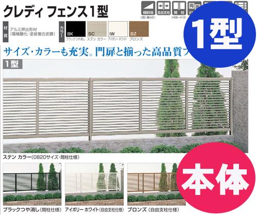 【送料無料】フェンス【四国化成】 クレディフェンス1型(本体)H1,200mm×W1,974mm