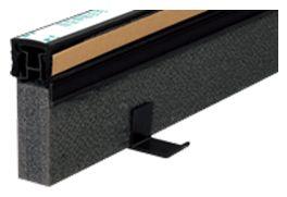 エキスパンタイ ブラック TE-25×100 キャップ幅 20mmx高さ100mm 1.5m 34本 51m分1ケース 成形伸縮目地 土間コンクリート目地 タイセイ 激安特価