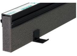 エキスパンタイ ブラック TJ-25×40(旧TK-25×40) キャップ幅 25mmx高さ40mm 1.5m 34本 51m分1ケース 成形伸縮目地 土間コンクリート目地 タイセイ 激安特価