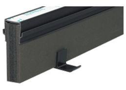 エキスパンタイ ブラック TZ-25×100(旧TO-25×100) キャップ幅 25mmx高さ100mm 1.5m 34本 51m分1ケース 成形伸縮目地 土間コンクリート目地 タイセイ 激安特価