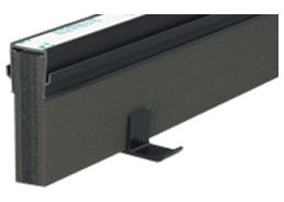 エキスパンタイ ブラック TZ-25×80(旧TO-25×80) キャップ幅 25mmx高さ80mm 1.5m 34本 51m分1ケース 成形伸縮目地 土間コンクリート目地 タイセイ 激安特価