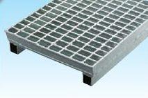 グレーチングVS側溝タイプかさ上げ並目滑止付グレーチング本体寸法mm 345×995×25×80mm 長さ995mm 高さ110mmWKV-X34‐525 標準タイプ
