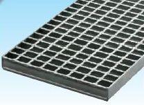 グレーチング一般側溝用 並目ノンスリップ 本体寸法450x997x55mm 形式記号WO-X45‐955グレーチング本体のみ