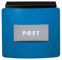 表札 戸建 郵便ポストデザインポスト フェイスポスト msfacepnasiマリンブルー 丸三タカギ 激安表札