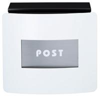 表札 戸建 郵便ポストデザインポスト フェイスポスト msfacepnasiホワイト 丸三タカギ 激安表札