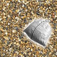 当日 翌日出荷 送料無料 化粧砂利 大特価 赤ジャミ石 赤じゃみ石 家周り 洗い出し 18kg 格安激安 水槽に 6mm-10mm砂利 京都府城陽産