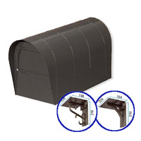 郵便ポスト 郵便受け リクシル(LIXIL) アメリカンポスト壁付け台座セット 定価27300円 送料無料