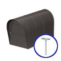 郵便ポスト 郵便受け リクシル(LIXIL) アメリカンポスト ポール建てセット 定価24800円