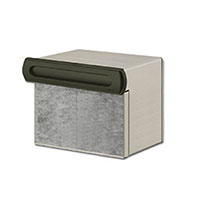 埋め込み郵便ポスト 郵便受け リクシル(LIXIL) エクスポスト 口金タイプ N-2型 2BOXタイプ 送料無料