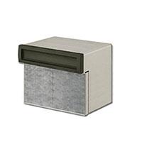 埋め込み郵便ポスト 郵便受け リクシル(LIXIL) エクスポスト 口金タイプ S-1型 2BOXタイプ 送料無料