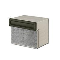 埋め込み郵便ポスト 郵便受け リクシル(LIXIL) エクスポスト 口金タイプ S-2型 2BOXタイプ 送料無料