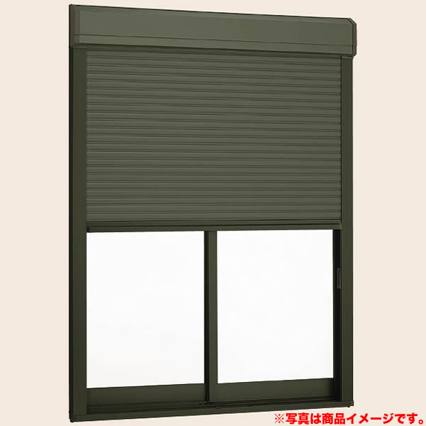 【5月はエントリーでP10倍】アルミサッシ シャッターサッシ 引き違い 12809 W1320×H970 半外型 LIXIL デュオPG イタリア 窓サッシ 引違い窓 DIY kenzai