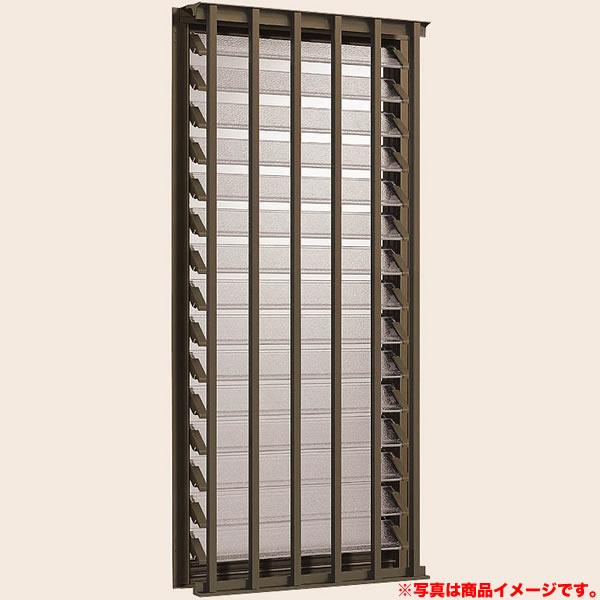 リクシル デュオPG アルミサッシ DIY アルミサッシ LIXIL/TOSTEM kenzai 06003 面格子付ダブルガラスルーバー窓 W640*H370 トステム
