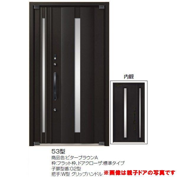 高級断熱玄関ドア アヴァントス 53型 両袖ドア リクシル トステム LIXIL TOSTEM アルミサッシ 玄関ドア AVANTOS kenzai