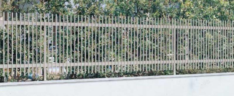 <title>隣地境界をおしゃれに目隠し フェンス LIXIL 現金特価 アルミトンガ1型 T-4 本体 2000×400mm kenzai</title>