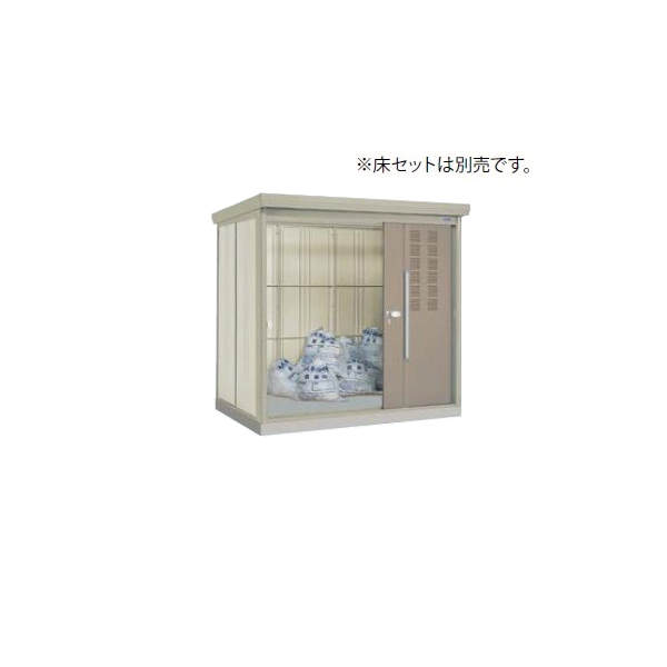 タクボごみ集積庫 クリーンキーパー CK-2215 W2200×H2110×D1590 25世帯用【景観保護】【ゴミ置場】 kenzai