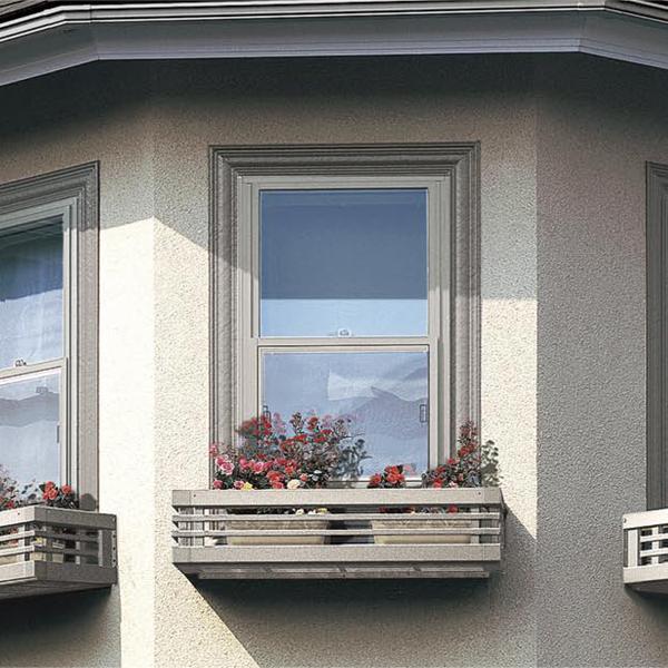 窓のアクセントに!ガーデニングに最適なフラワーボックスです! LIXIL/リクシル フローリスト 横格子 256-03 寸法W2825*H230【フラワーボックス】【ガーデニング】【エクステリア】 kenzai