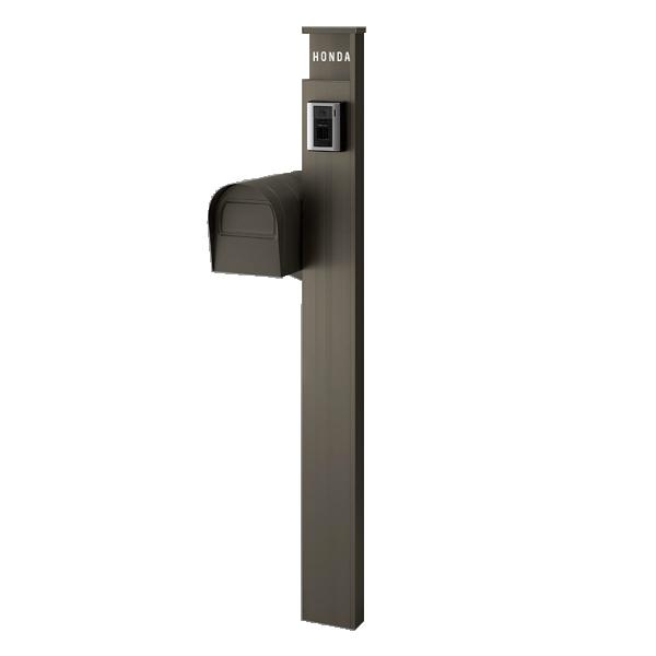 機能門柱 リクシル アクシィ 1型 組み合わせ例-7 LIXIL ファンクションユニット 高さ1500mm 本体112×230×430mm(アメリカンポスト) LIXIL リフォーム DIY kenzai