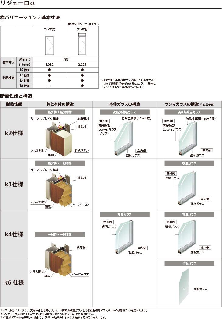 アパート用玄関ドアLIXILリジェーロαK4仕様14型ランマ付W785×H2215mm玄関サッシアルミ枠本体鋼板