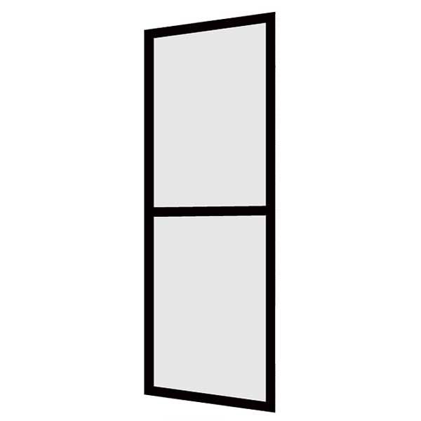 LIXIL/リクシル 玄関引戸(引き戸) 菩提樹用網戸 2枚建戸ランマ無 普通枠 242型(二本格子腰付) 6163 W1891*H1847【玄関】【出入口】 kenzai