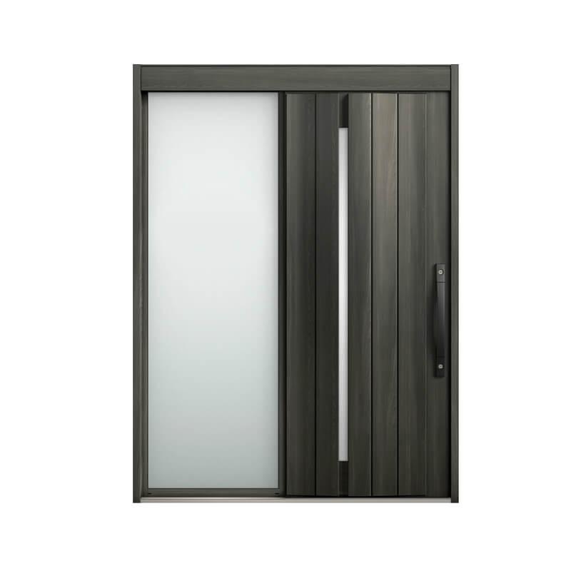 玄関引戸 リクシル エルムーブ2 L11型 片袖 本体鋼板仕様 呼称W169 W1692×H2288mm 玄関引き戸 LIXIL/TOSTEM トステム 玄関ドア サッシ リフォーム DIY kenzai