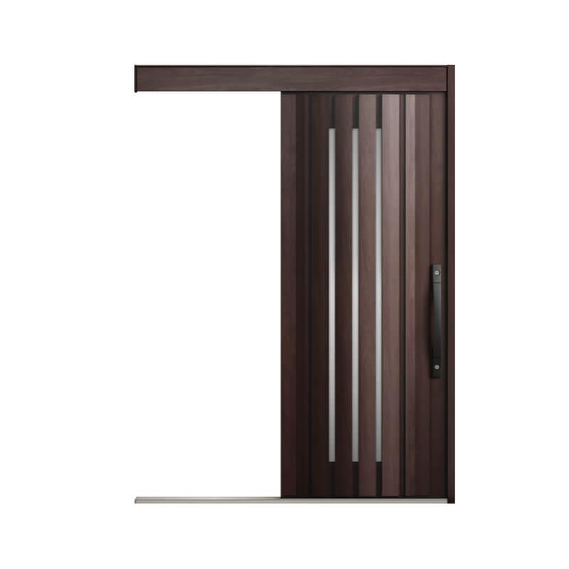 玄関引戸 リクシル エルムーブ2 L12型 一本引き 本体鋼板仕様 呼称W160 W1608×H2150mm 玄関引き戸 LIXIL/TOSTEM トステム 玄関ドア サッシ リフォーム DIY kenzai